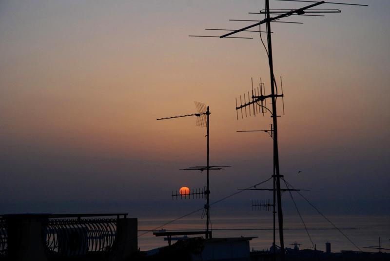 """I """"nuri"""" l'alba del 4 Maggio 2013, Melilli"""