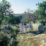 """""""I nuri"""" percorrono gli antichi sentieri tra le campagne"""