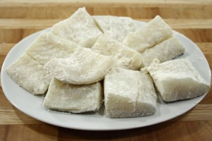 Baccalà con i porri - ricetta melillese