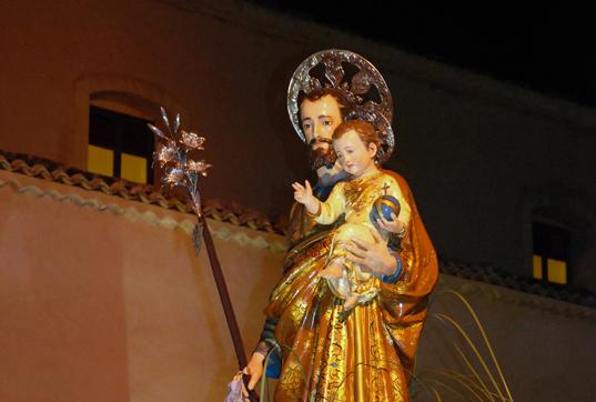 San Giuseppe processione