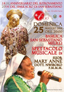 spettacolo musicale 25 maggio san sebastiano