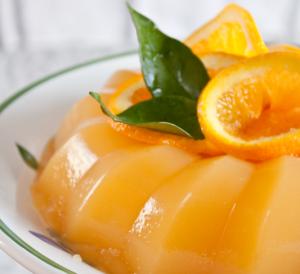 Gelo di arancia e cannella