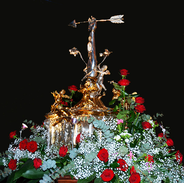 San Sebastiano - Reliquia - 600 anni 2014